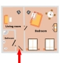 Zamecka Apartma - Apartment 2 Floor plan
