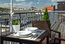 Prague Apartment Wenceslas Square - Studio 806 Terrace