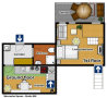Prague Apartment Wenceslas Square - Studio 806 Floor plan