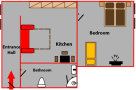 Andel Apartmany U Santosky - Apartment 1 Floor plan