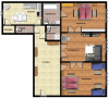 Top Apartments Prague - Vitezna I Floor plan