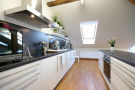 Top Apartments Prague - Klimentska Attic Kitchen