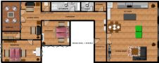 Top Apartments Prague - Klimentska Attic Floor plan