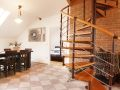 Top Apartments Prague - Hastalska Attic Living room