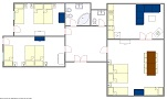 EUA, s.r.o. - Prague Central 6 (A41) 3B Floor plan